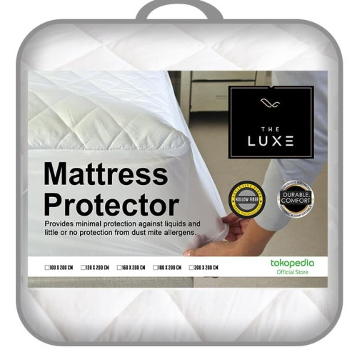 Foto Produk Pelindung Kasur | The Luxe Mattress Protector Fitted 180x200 dari The Luxe