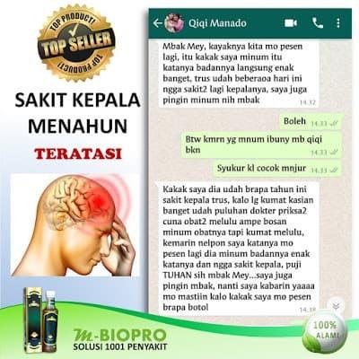 Foto Produk Termanjur Obat Sakit Kepala Menahun Sembuh dengan MBIOPRO dari Istiqomah-Store