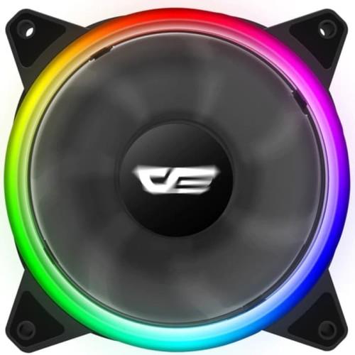 Foto Produk aigo DR12 Pro RGB Double Ring Fan Single Pack dari distributorkomputer