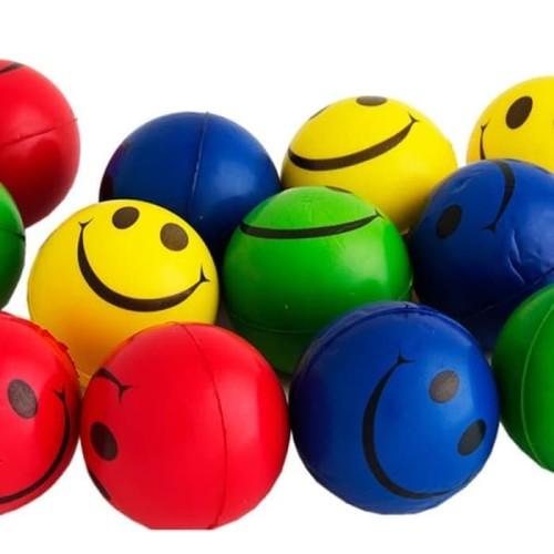 Foto Produk Bola Smile Terapi Stroke Latihan tangan Menggenggam Lentur karet dari AFIATCARE