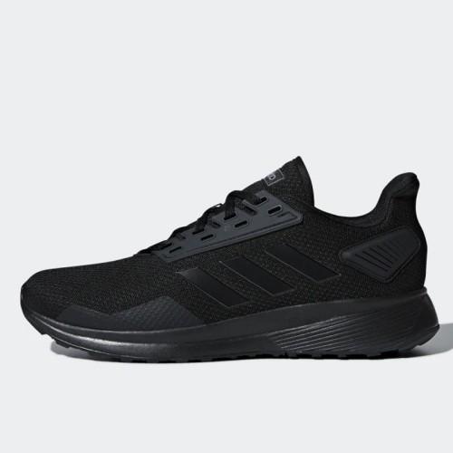 Foto Produk Sepatu Lari Adidas Duramo 9 Triple Black Original B96578 dari Ncr Sport