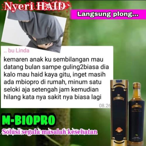 Foto Produk Obat Nyeri Haid Sumilangeun Haid Tidak Lancar - MBIOPRO dari Istiqomah-Store