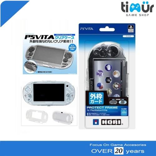 Foto Produk Crystal Case Mika Transparan Protector PSVita PS Vita Slim 2000 dari Timur Game Shop