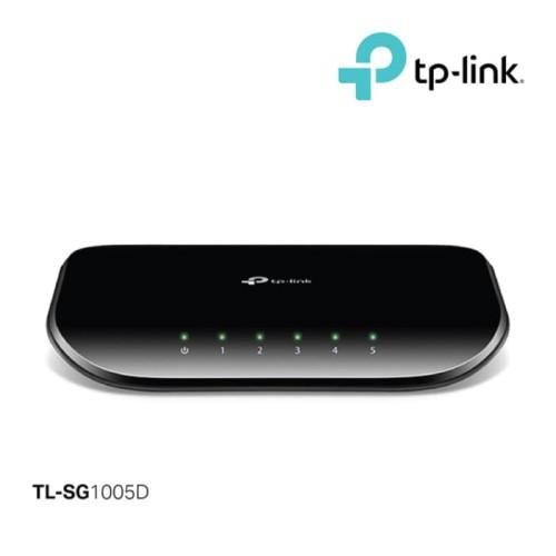 Foto Produk TP-Link SG1005D Switch Hub 5 Port Gigabit / Switch Hub Gigabit 5 Port dari Trinity Official Store
