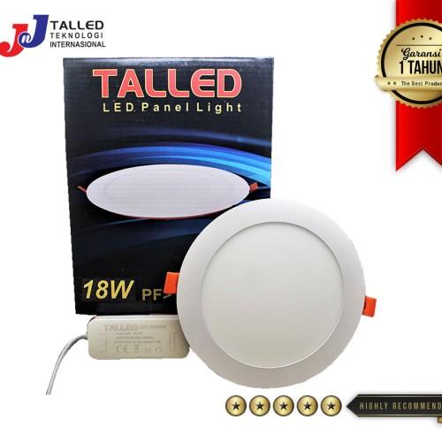 Foto Produk LAMPU DOWNLIGHT 18W 225mm / LED PANEL LIGHT 18W TALLED - Warm White dari JNJ Talled