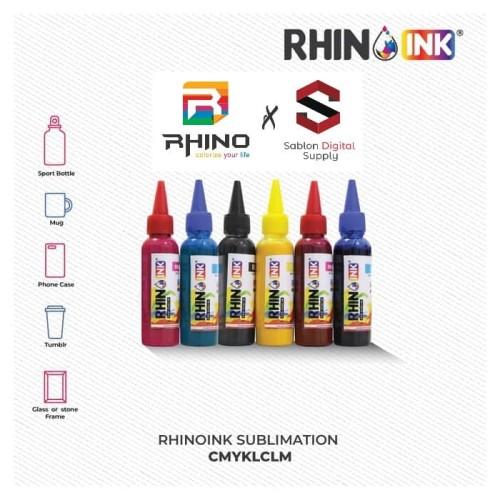 Foto Produk Tinta Sublim Premium / Sublimation Ink Premium Quality CMYK LC LM dari Sablon Digital Supply