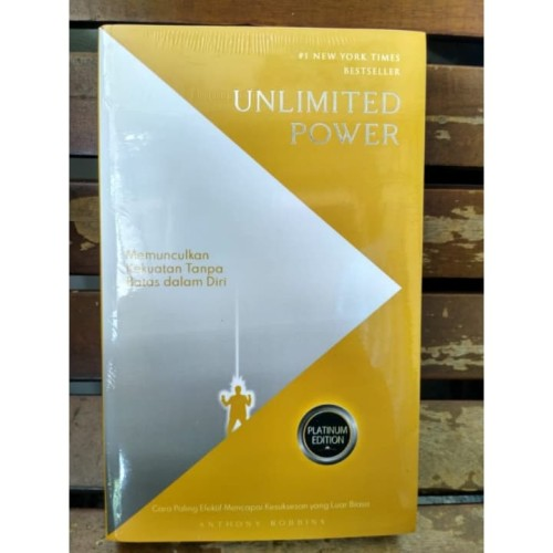 Foto Produk Unlimited Power - Anthony Robbins dari Alifia Bookstore