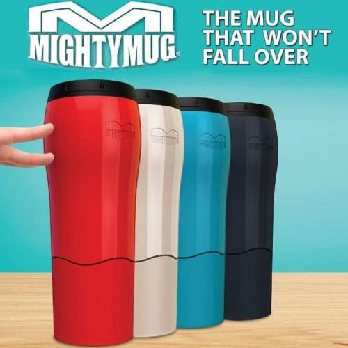 Foto Produk Mighty Mug Tumbler Botol Minum Termos Anti Tumpah Senggol (H331) dari Blooming_deal