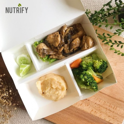 Foto Produk 1 MONTH WEIGHT LOSS PROGRAM + HEALTHY SNACK BOX dari Nutrify Catering