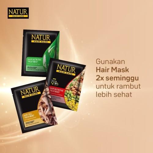 Foto Produk NATUR HAIR MASK 15 ml dari Belda.Stuff