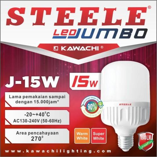 Foto Produk LED JUMBO KAPSUL STEELE 15W J-15W dari susanaberjaya