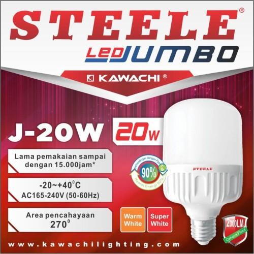 Foto Produk LED JUMBO KAPSUL STEELE 20W J-20W dari susanaberjaya