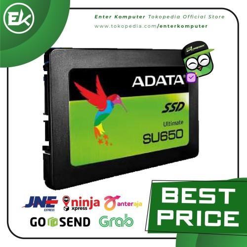 Foto Produk ADATA SSD SU650 120GB SATA III ( R/W Up to 520 / 450MB/s ) dari Enter Komputer Official