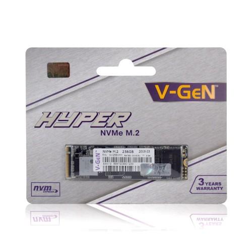 Foto Produk SSD V-GeN Hyper 256GB M.2 NVMe PCIe Gen 3.0 - SSD VGEN 256 GB M2 NVME - SSD dari Intact Official Store