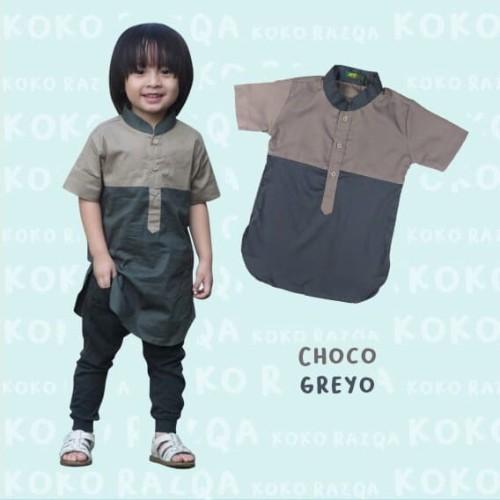 Foto Produk Baju koko anak size 1 - 5 tahun dari aqhyla shop