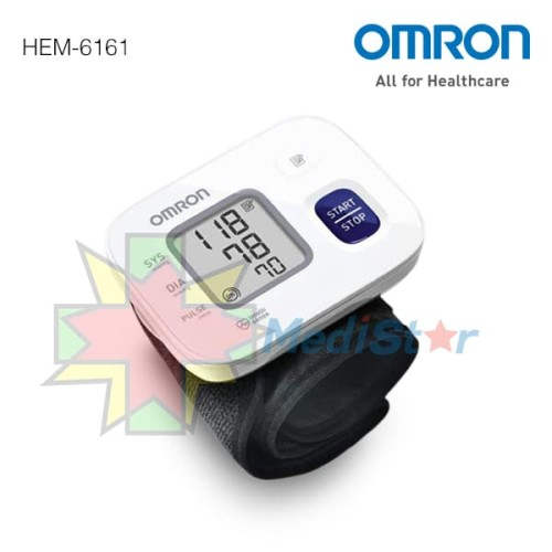 Foto Produk Omron Tensimeter Wrist Blood Pressure Monitor HEM-6161 dari MediStar
