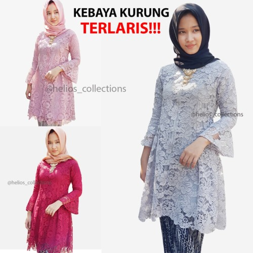 Foto Produk KEBAYA MODERN 2019 -2020 | Set Kebaya Kurung Hijab| FREE BROS | Pendan dari Toko Gadjet