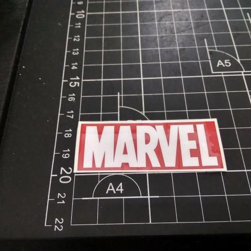 Foto Produk sticker cutting cutting sticker marvel sticker he uk 6x2cm dari Sticker online