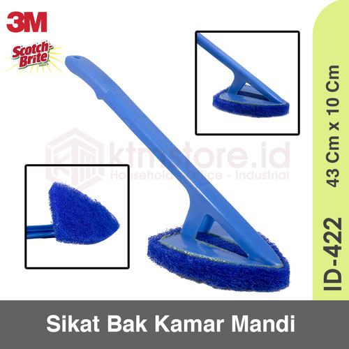 Foto Produk Sikat Bak Kamar Mandi 3M Scotch Brite ID-422 dari KODAKI Mall