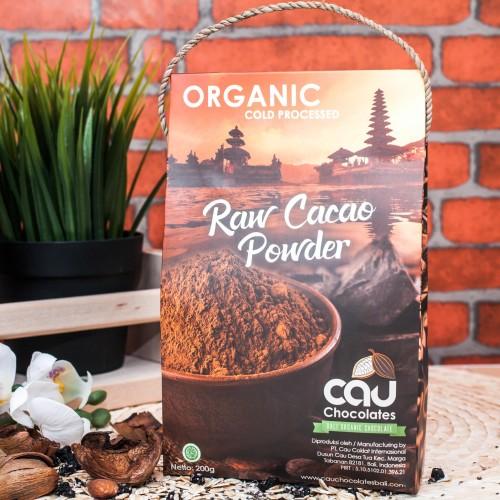 Foto Produk Organic Cacao Powder (Cau Chocolates) - 200g dari Genki Plant