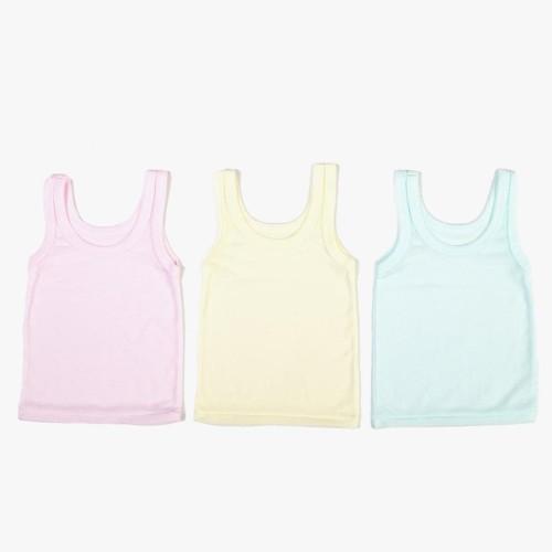 Foto Produk Big Sale Cuit Kaos Dalam Anak Singlet Bayi - Paket 3 Warna dari Imey mLiem