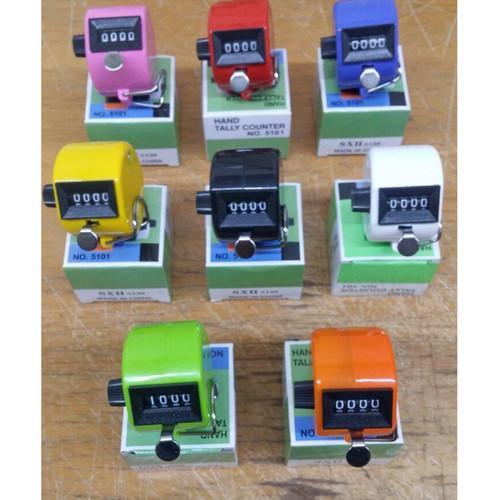 Foto Produk Tasbih Hand Counter, Hand Tally, Checker plastik aneka Warna - S041 - RANDOM dari zero plus