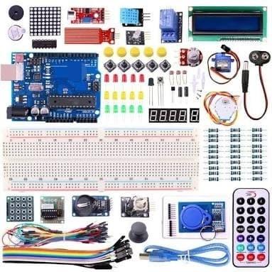 Foto Produk Arduino Uno r3 compatible starter kit paket RFID Free CD progam dari Toko Raspberry