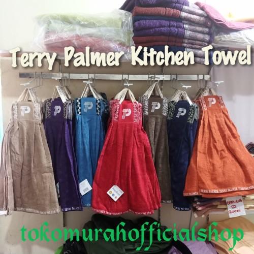 Foto Produk TERRY PALMER KITCHEN TOWEL LAP TANGAN - Maroon dari tokomurahofficialshop