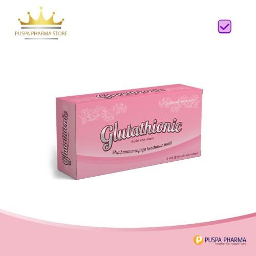 Foto Produk Glutathionic - Mencerahkan kulit serta menghilangkan bekas jerawat dari Puspa Pharma Store