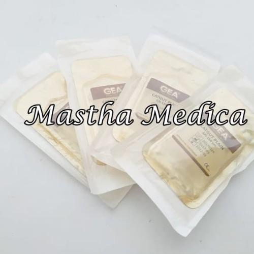 Foto Produk Benang Operasi Bedah Catgut cetgat cutgat Cutgut Plain Gea 3/0 150 cm dari Mastha Medica