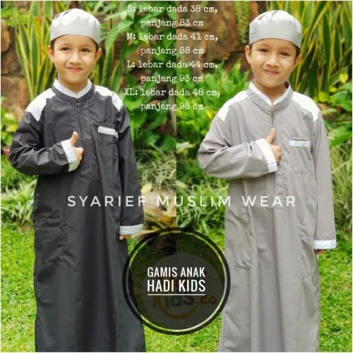 Foto Produk Gamis Anak Hadi Kids - Nyaman Berkualitas dari Syarief Muslim Wear