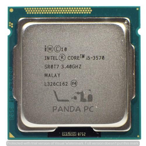 Foto Produk Processor Intel Core i5 3570 tray Socket 1155 Ivy Bridge dari Panda PC