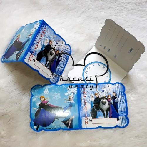 Foto Produk Undangan Frozen/Kartu Undangan Frozen/Undangan Ultah Frozen dari krEAsi party