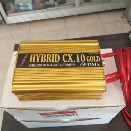 Foto Produk stabilizer aki HYBRID CX 10 GOLD OPTIMA HEMAT BBM dari jakartamobilaudio