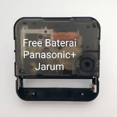 Foto Produk Mesin Jam Dinding SKP Seiko Original Japan + Free Jarum dll dari grojam