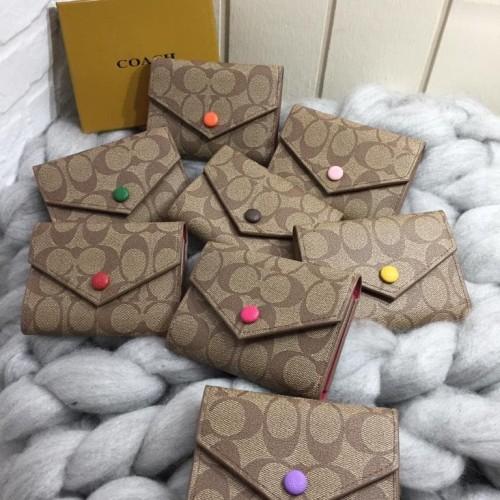 Foto Produk COACH EMILIE MINI FREE BOX/ coach wallet / coach mini wallet / dompet dari konveksitasjkt