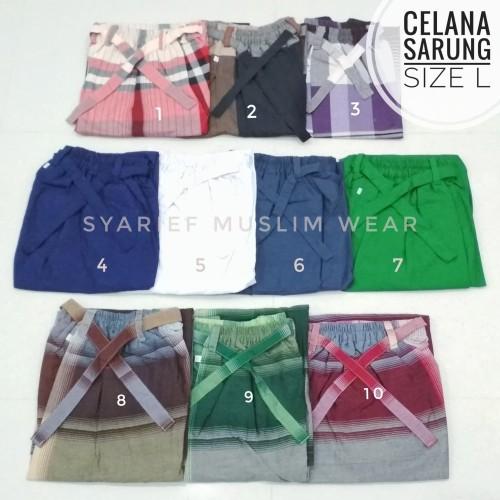Foto Produk Celana Sarung SMW - Murah Berkualitas dari Syarief Muslim Wear