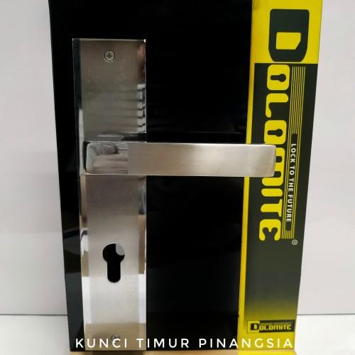 Foto Produk Paket gagang kunci pintu/handle pintu/pegangan pintu 375 dari Dolomite Kunci Timur Pinangsia
