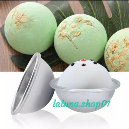Foto Produk Cetakan Bath Bomb / Bath Bomb Mold - 4,5 cm dari laluna.shop01