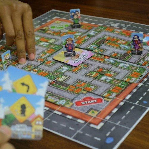 Foto Produk Balap Kuliner Board Game dari Pandonga Creatives