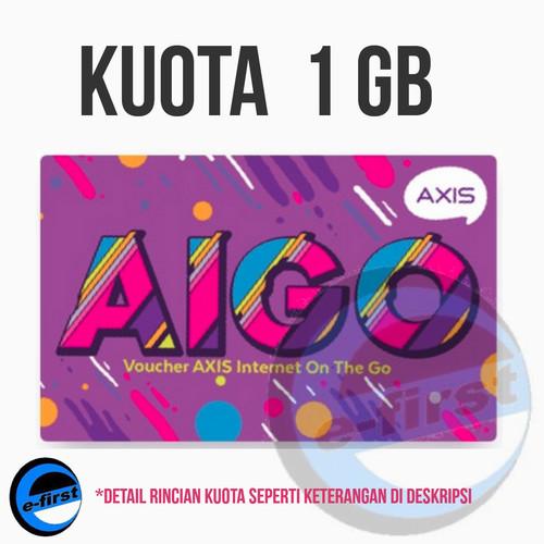 Jual Voucher Vocher Kuota Data Axis Aigo 1gb Voucer Internet Alt Xl 3 1 Gb Kota Bogor Efirst Tokopedia