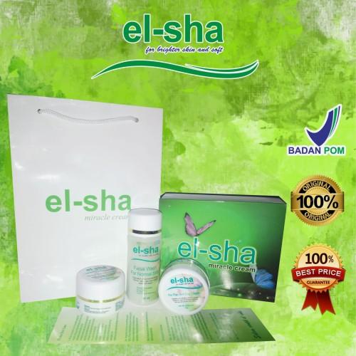 Foto Produk ELSHA MIRACLE CREAM PAKET FLEK dari el-sha miracle cream