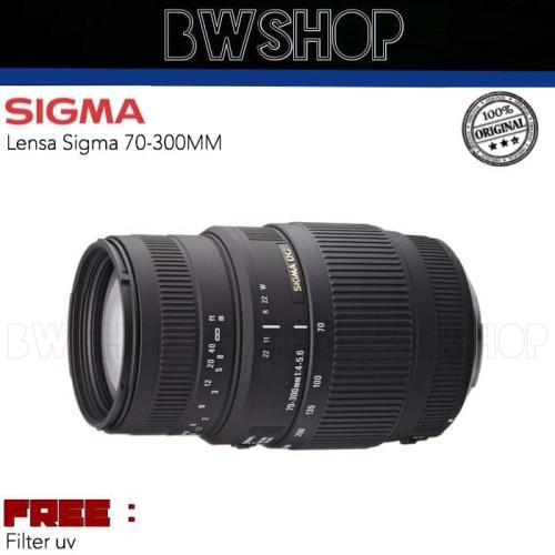 Foto Produk LENSA SIGMA 70-300MM F4-5.6 DG MACRO For Canon / Nikon dari bw shop-