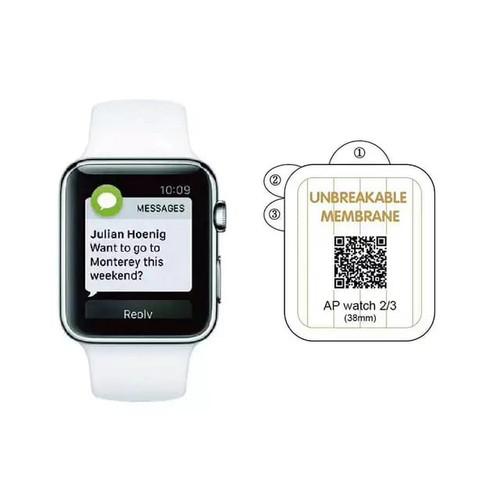 Foto Produk Hydrogel anti gores Apple Watch 38mm antigores screen guard protector dari Multi Store 12