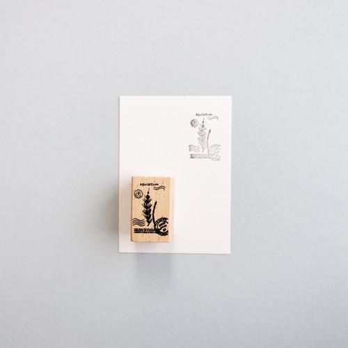 Foto Produk Botanical Series Rubber Stamp: Equisetum dari gudily