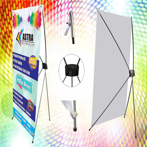 Foto Produk Cetak/print X-Banner Flexy 280 60x160 dari Astra Inti Media