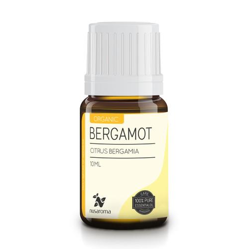 Foto Produk 10ml - Organic Bergamot Essential Oil 100% Pure and Natural   Nusaroma dari Suko Aroma