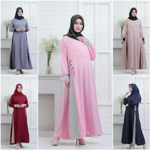Foto Produk Pakaian Baju Busana Muslim Wanita Gamis HARUMI Maxi Dress Murah dari Zy's Distro