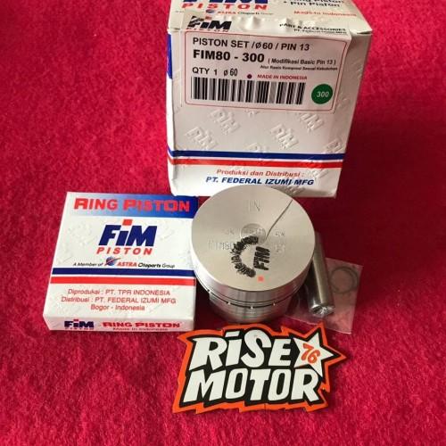 Foto Produk Piston Fim 60 pen 13 mentah dari risemotor