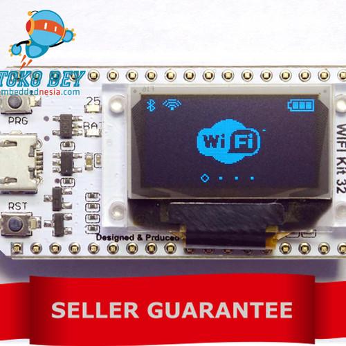 Foto Produk ESP32 Development Board Bluetooth WIFI with Display OLED 0.96 onboard dari TOKO BEY